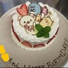 下の子6歳の誕生会 パティシエママ友にケーキを作ってもらいました