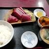 西川口の「あおき食堂」でかつお刺身定食を食べました★
