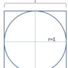 モンテカルロ法で円周率を求める