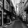 亀戸駅脇の古い飲み屋街