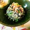 ひじきの里芋和え柚子胡椒風味