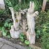 【静岡 伊那下(いなしも)神社】アート?作品が立ち並ぶ趣向ある神社