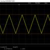 三角波生成器 / BCDで周波数を設定する