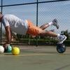 神経筋トレーニング(γ運動神経機械受容器の閾値を下げることにより、主動筋組織の感度を高め、予測できない力に素早く反応できるようになる)