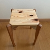 釘などを使わない椅子を制作