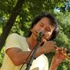 森の夏祭り(篠笛とジャンベの野外コンサート)
