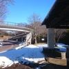 なかなか雪解しない多摩湖北側へ、多摩湖半周走ってきました!