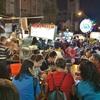 2018年台湾その5 寧夏夜市で水餃子とカキオムレツ