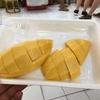 タイの美味しい食べ物を振り返ろう スイーツその他編① 男マーケットのマンゴー!