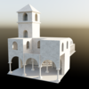 【Blender#51】簡単な教会の作り方