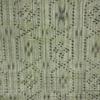 着物生地(205)縞に亀甲模様織り出し手織り紬