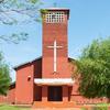 ヘスス遺跡の町の教会