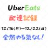 【配達記録・12/16(月)〜12/22(日)さいたま】仕事が忙しく週末のみ