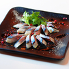 「宮城県女川産 桜で燻製したサンマのカルパッチョ」のご紹介