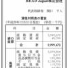 HEAD Japan株式会社 第31期決算公告