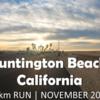 【10kmラン】Huntington Beach South | Morning Run in November 2020