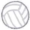校内スポーツ大会(1) 1年のバレーボール
