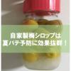 自家製梅シロップで梅ジュース(サイダー)を作ったら夏バテ予防に効果抜群だった話