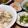 マーボー豆腐*蕎麦と佃煮とおから煮