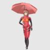 【Blender #36】傘の作り方