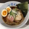 麺や堂幻(那覇市)木おけ生醤油そば 700円 + 味玉