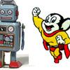 登校日Ⅴ(年金ロボットとマイティマウス)
