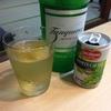 本日のお酒:ジンのグレープジュース割り