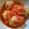 豆腐肉団子のトマト煮