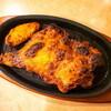 サイゼリヤ下総中山店@下総中山 骨付きももの辛味チキン、辛味チキン、白菜のクラムチャウダー、ソーセージピザ・他