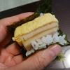 手巻きチビスパム握りは楽しく美味しくダイエット向き