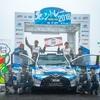● 映画『OVER DRIVE』のトヨタ・ヤリス、JSR第2戦モントレーで総合優勝!