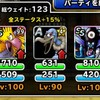 level.1512【自然系15%UP】第186回闘技場ランキングバトル2日目
