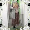 【着画】【ファッション】~21年3月17日のコーディネート  プチプラ プチプラコーデ 今日のコーデ 大人かわいい 主婦ブログ