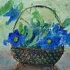 母の油絵「テッセン」