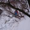 スタッフの休日@御在所岳でアイスクライミング