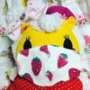 カンくんのマスクは柄物