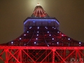 東京タワーに現れた青い光「天の川イルミネーション」(2016年)