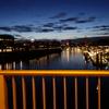 4月末のドイツは白夜のようなもの、夜のブレーメンの観光とご飯のことを書いておきたい。