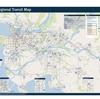 VANCOUVERの市内BUS路線図、見所