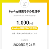 「PayPay」初利用しました!
