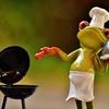 オーブンでブリの塩焼き/ねぎまを焼いてみました