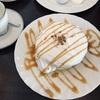 さかい珈琲のパンケーキ