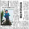 昨日・本日の中日新聞に笠松競馬の記事が!