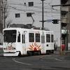 鹿児島市電9700形 9702号車(さんふらわあラッピング車両)