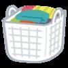 我が家のお洗濯事情 - 衣類乾燥機と(極力)たたまない主義
