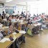 授業参観④ 3年生1時間目 国語、図工