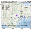 2017年10月08日 07時31分 十勝地方中部でM3.2の地震