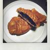 銀のあんの「ラングドシャたい焼」を食べました。