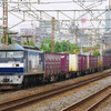 5月31日撮影 東海道線 平塚~大磯間 ① 貨物列車 1155ㇾ 5075ㇾ 3075ㇾ