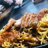 バリバリ麺☆銀座スパカツ♪